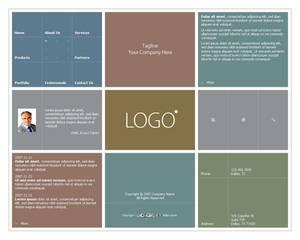 Business Website Template 008