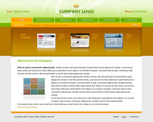 Business Website Template 009 by colorifer