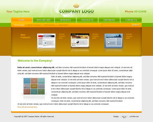 Business Website Template 009
