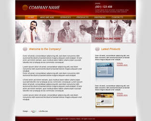 Business Website Template 010 by colorifer