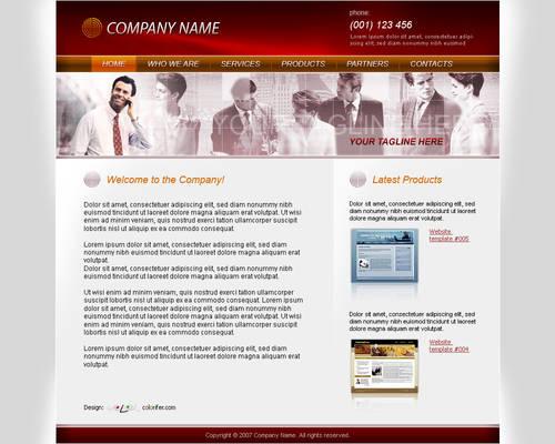 Business Website Template 010