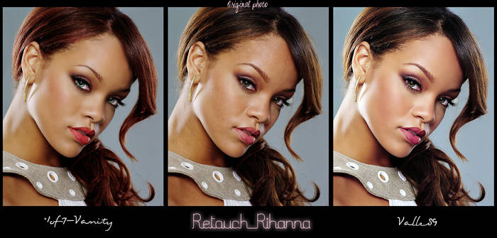 Double Retouch for Rihanna