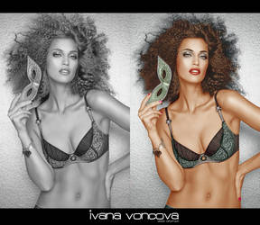 Colorize Ivana Vancova by Valle89