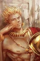 [fate]-Gilgamesh by MsViVid