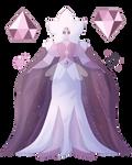 (SU) Pink Diamond/White Diamond | Rose Diamond