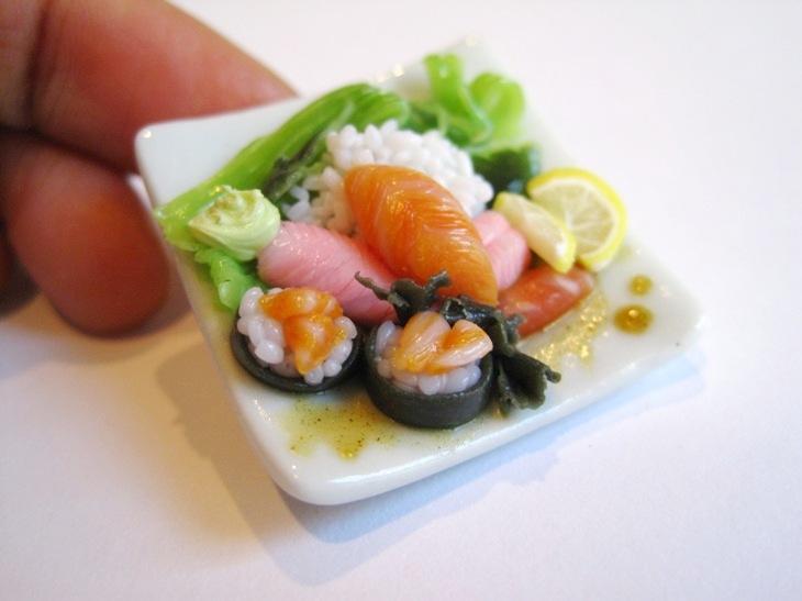 Sushi platter by WaterGleam