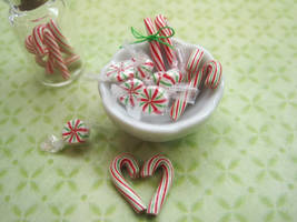 Mini Peppermint Candies by WaterGleam