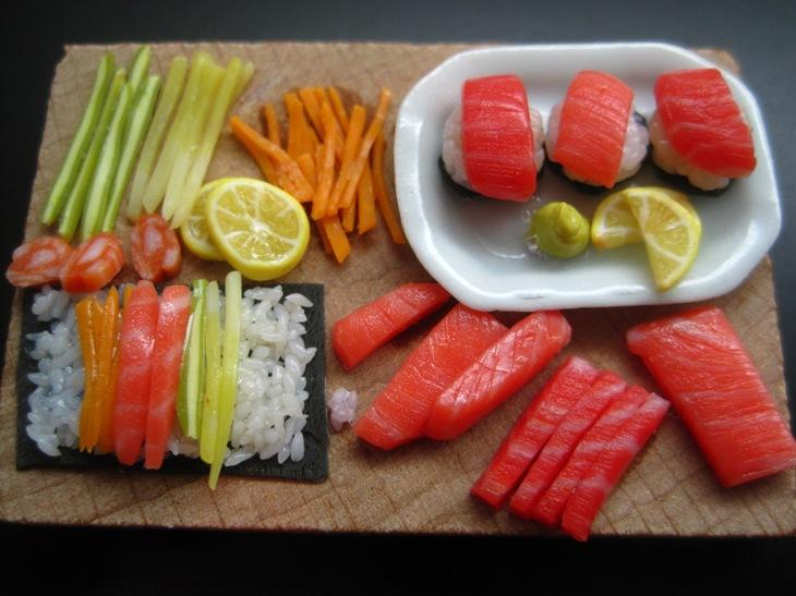 Sushi Prep by WaterGleam