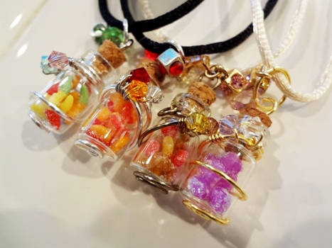 Gummy Candy Bottles!