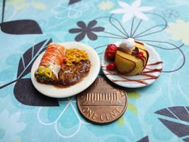 Burrito Beans and Rice by WaterGleam