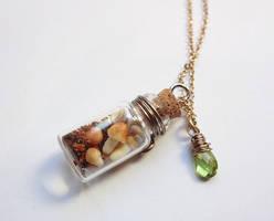Bottle Beauty Necklace - Earthy Girl