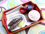 Grilled Pike Fish Tray