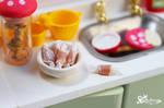 Miniature Caramel Candies