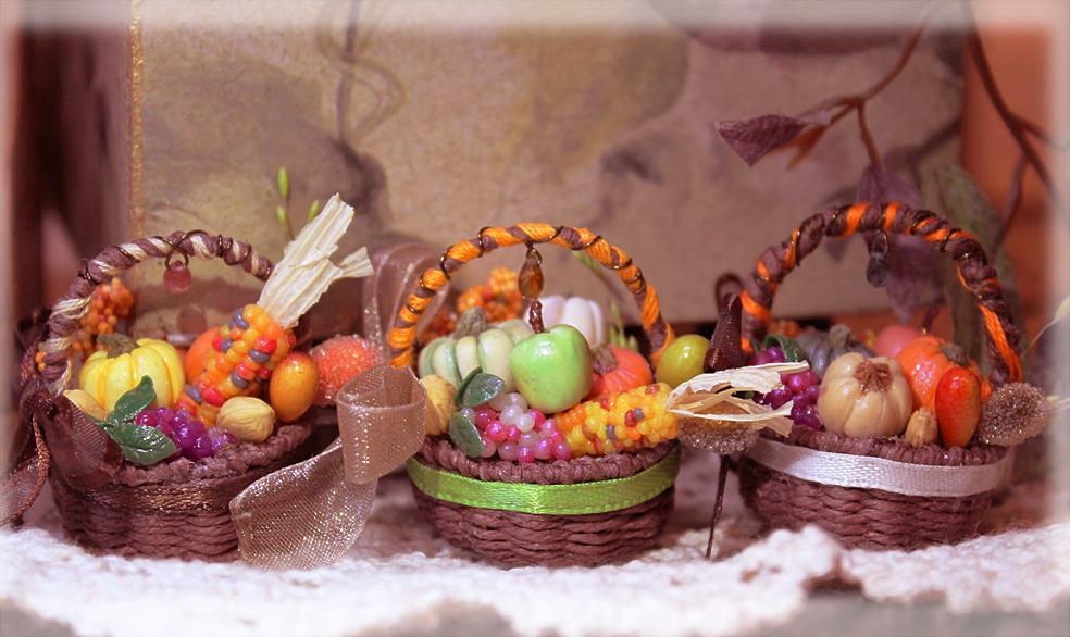 Harvest Baskets by WaterGleam