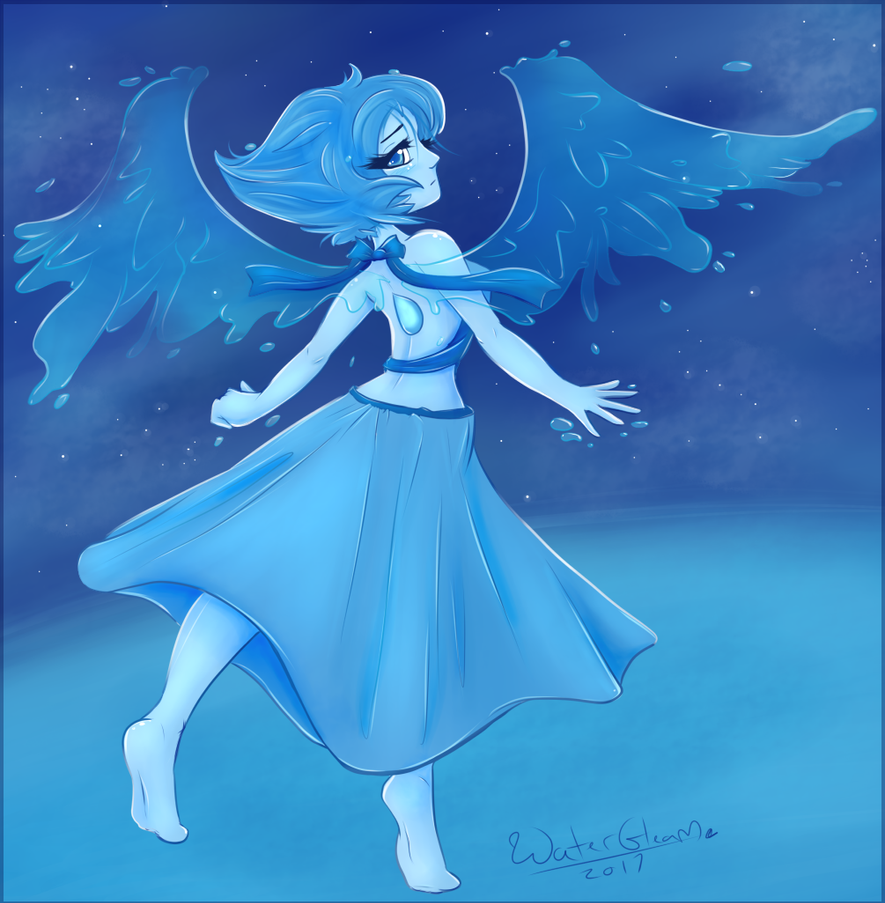 Yay for some art of Lapis! I actually have a lot of gems sketched, but I'm just now getting to coloring them... maybe xD Art © to me Lapis Lazuli © to CN/Steven Universe