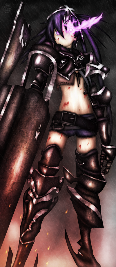 Insane Black Rock Shooter FAN ART by Suuxe
