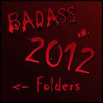 BADASS Folder 2012 by Suuxe