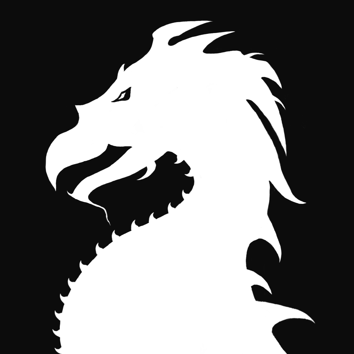 Dragon Silhouette Related Keywords & Suggestions - Dragon ...