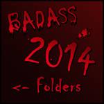 BADASS Folder 2014 by Suuxe