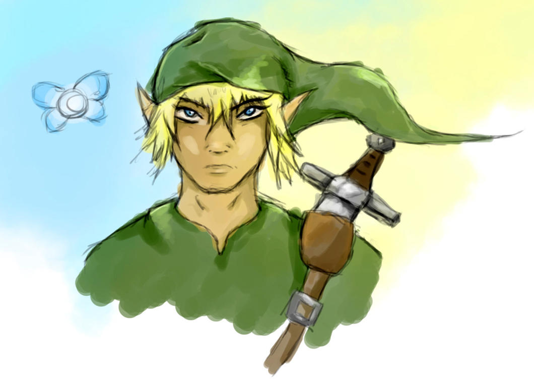 Link Sketch by Suuxe