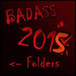 BADASS Folders 2015 by Suuxe