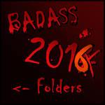 BADASS Folder 2016 by Suuxe