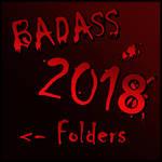 BADASS Folder 2018 by Suuxe