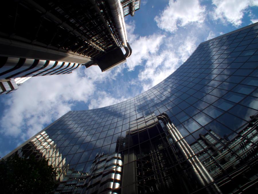 Urban skyscrape by Gaelic-nautilus