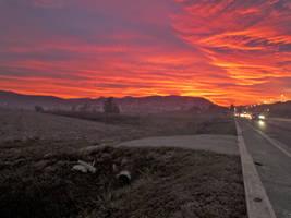 Sunset highway by Gaelic-nautilus