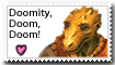I support Deekin stamp
