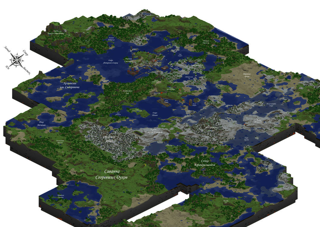 Map of my MineCraft Server by AntiMingebag on DeviantArt