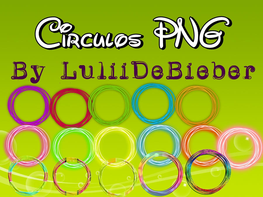 Circulos PNG Para Photoshop Photoscape By LuLiiDeBieber On