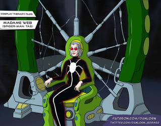 Madame Web / Game Sprite / Cosplay Therapy by Danlorn