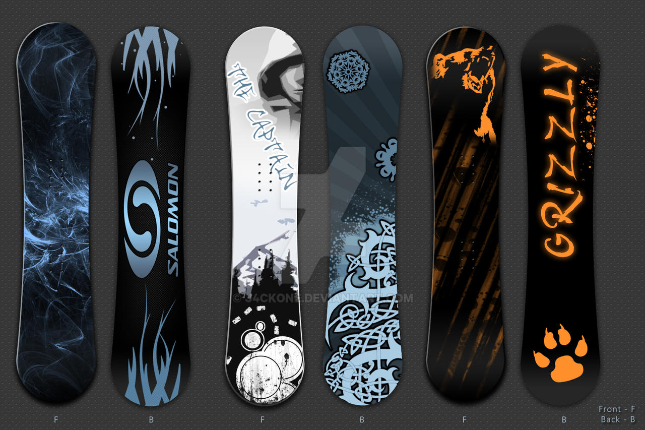 Snowboard Design By J4ckone On Deviantart