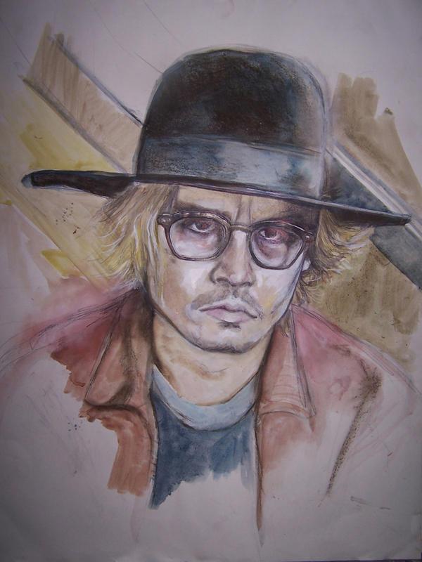 Johnny Depp - Secret Window by cpn-blowfish