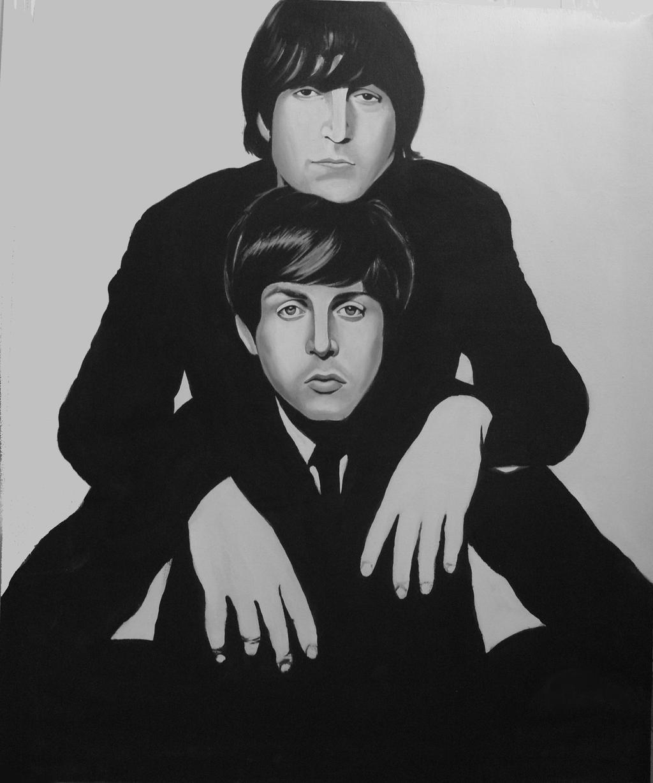 Lennon - McCartney by cpn-blowfish