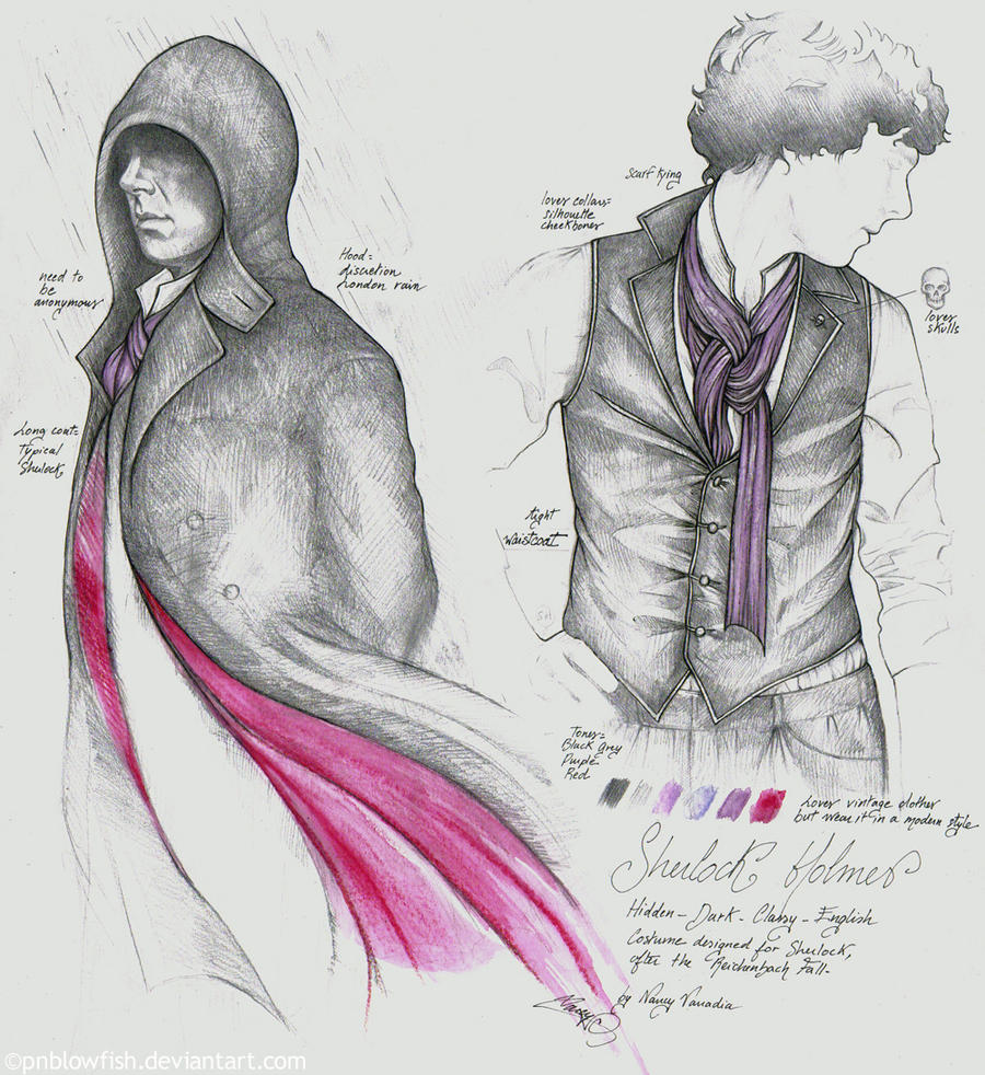 Sherlock costume by cpn-blowfish