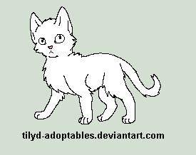 Kitten free lineart by Whiteout-Kennels
