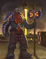 Dark Iron Dwarf by Revilgaz