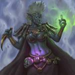 Zandalari Priestess of Shadra, the Spider Loa