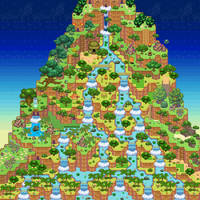 Waterfall Mountain by PMUglacies