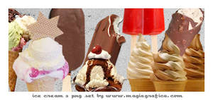 png set ice creams