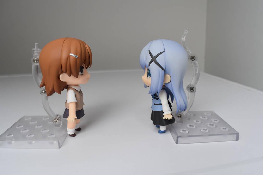 misaka and chino