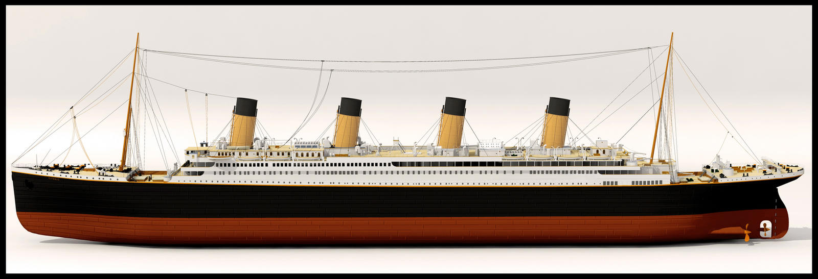 RMS Titanic 3d model by WaskoGM on DeviantArt