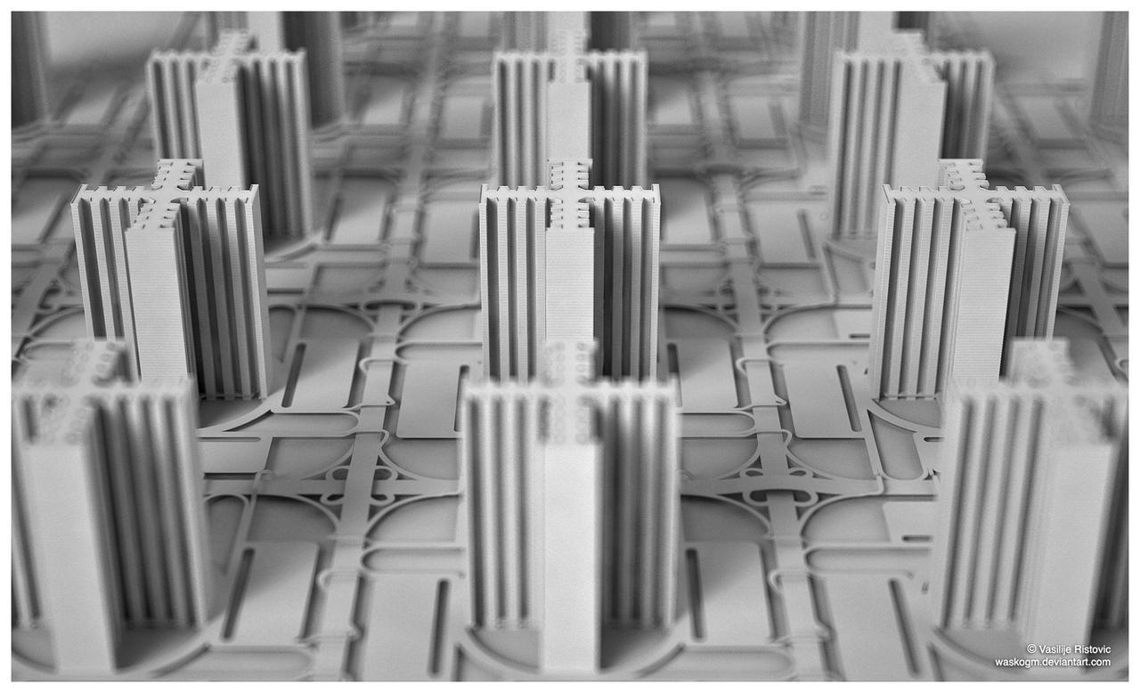 Radiant City by WaskoGM