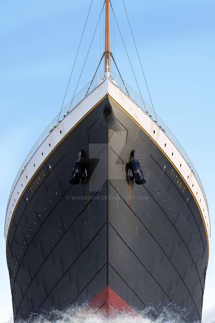 RMS Titanic Prow