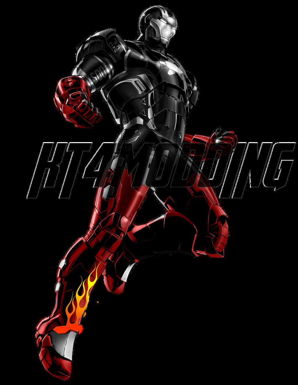 KT4MODDING Marvel Avengers Alliance Iron Man MK-22 by ...