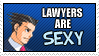 PW: Lawyers - Stamp by Xx-Vilde-xX