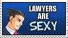 PW: Lawyers - Stamp by Xx-Vilde-xX