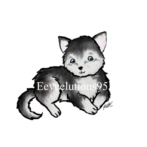 Cute Husky Puppy Drawings Cute Husky Puppy by